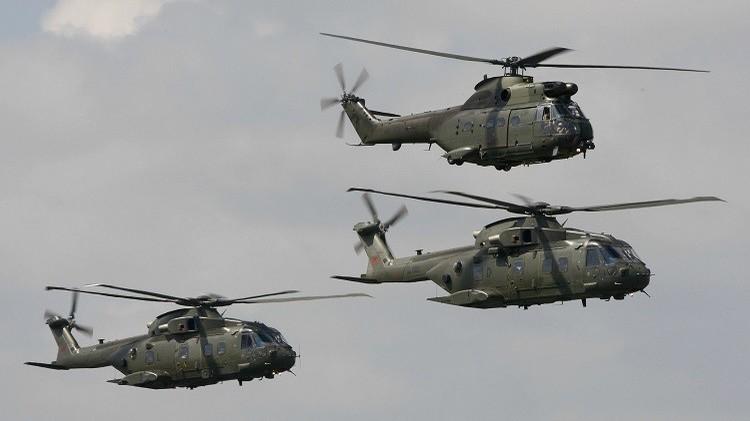 أفغانستان.. مصرع 5 أشخاص بينهم عسكريان بريطانيان بتحطم مروحية للناتو