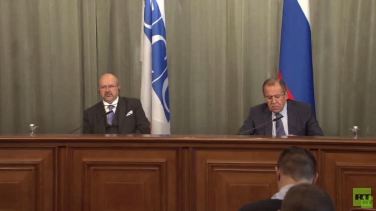 لافروف: التحالف لا يتعاون ضد الإرهاب