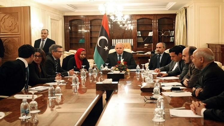 طرابلس ترفض حكومة الوفاق