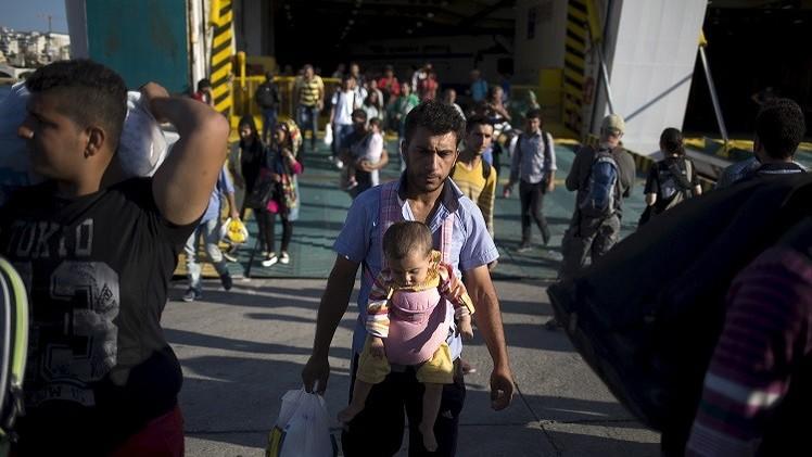 نحو  600 ألف لاجئ وصلوا إلى أوروبا منذ بداية العام