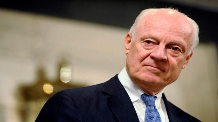 المبعوث الدولي إلى سوريا ستيفان دي ميستورا