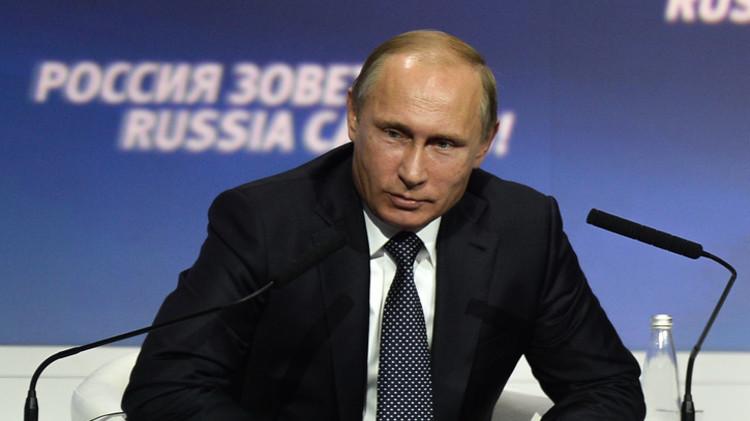 بوتين: من العبث مطالبة روسيا بتنفيذ اتفاقات مينسك بشأن أوكرانيا