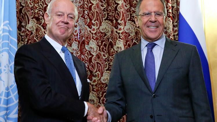 لافروف: العمليات الروسية في سوريا لا تعني التخلي عن التسوية السياسية