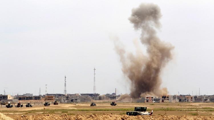 بغداد: بدأنا قصف مواقع داعش بمساعدة المركز الاستخباراتي الجديد