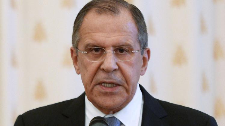 لافروف: روسيا تؤيد وضع استراتيجية شاملة لاستقرار الشرق الأوسط