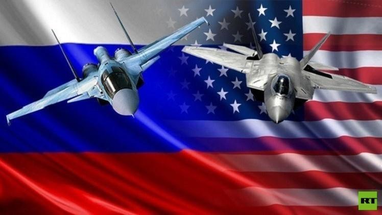 مقاتلات أمريكية وروسية تتزاحم في أجواء سوريا