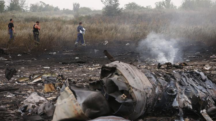 أسرار كارثة الطائرة الماليزية فوق شرق أوكرانيا
