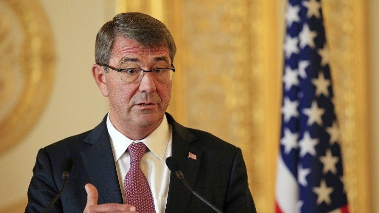 كارتر: القوات الأمريكية ستنفذ مهامها أينما يسمح القانون الدولي