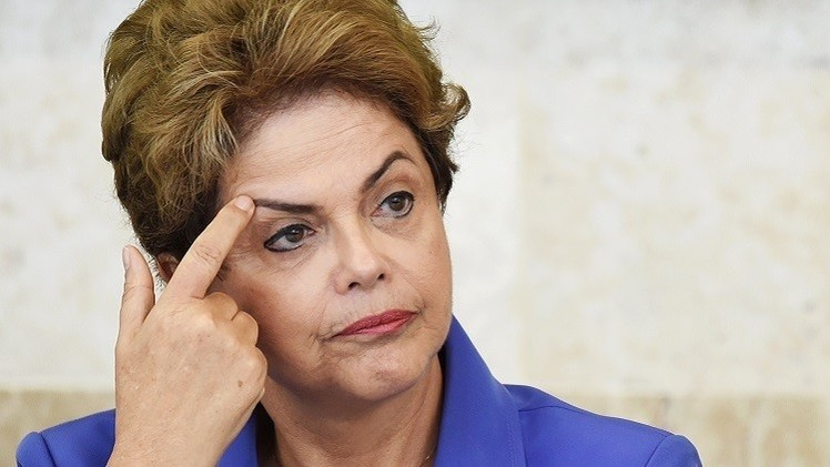رئيسة البرازيل تتهم المعارضة بالتحريض للإطاحة بها