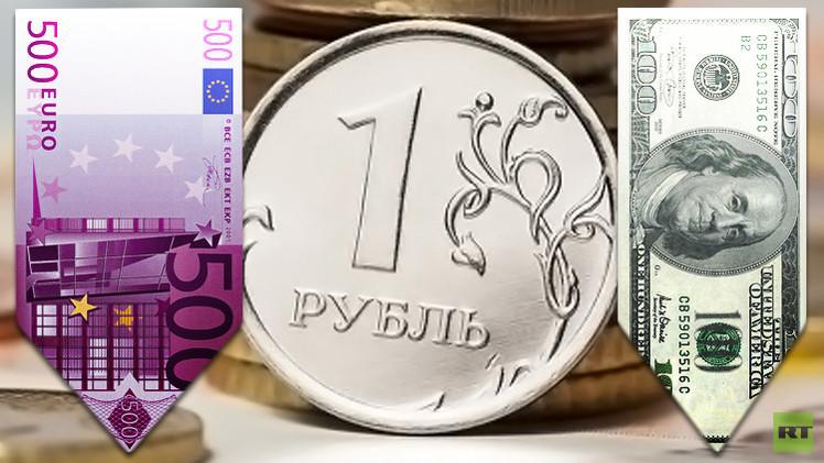 الروبل الروسي يصعد مقابل الدولار واليورو