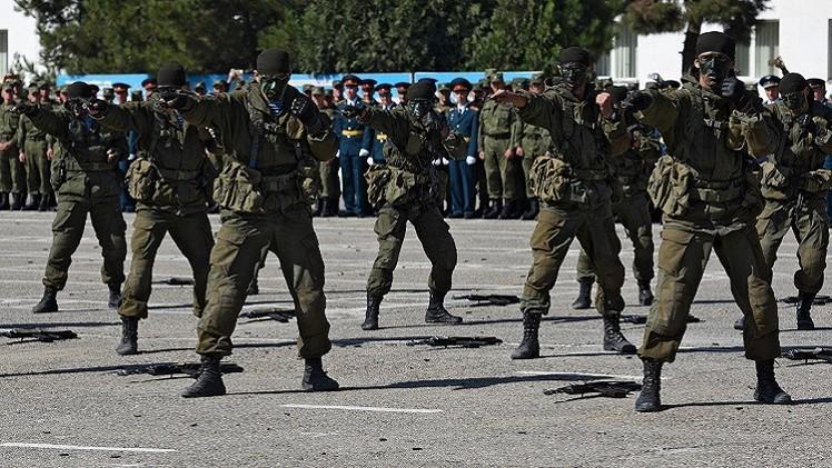 العسكريون الروس يتدربون على التصدي للإرهابيين في طاجيكستان