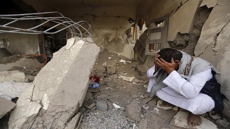غارات جديدة للتحالف في صنعاء والمبعوث الأممي يلتقي بحاح