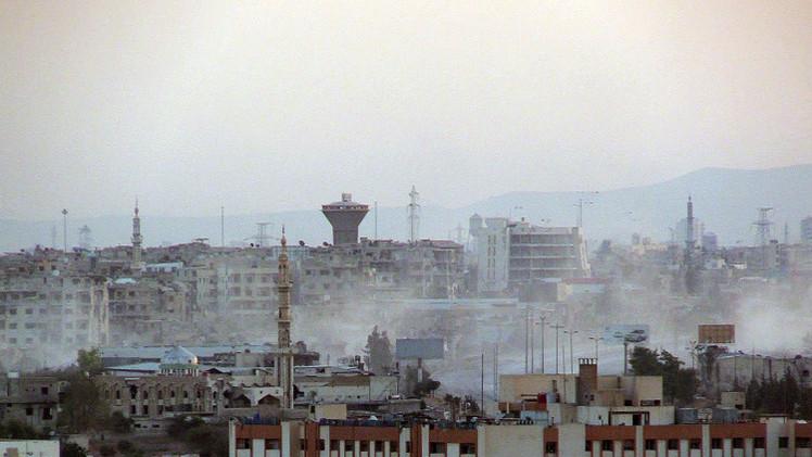 الجيش السوري يسيطر على جميع التلال المطلة على دوما وحرستا وعدة قرى في ريف حلب