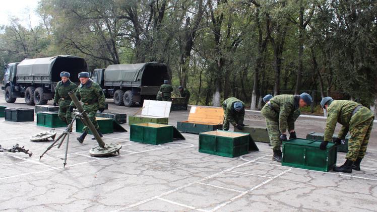 لوغانسك تؤكد سحب أوكرانيا مدافع حتى 120 ملم عن خط التماس