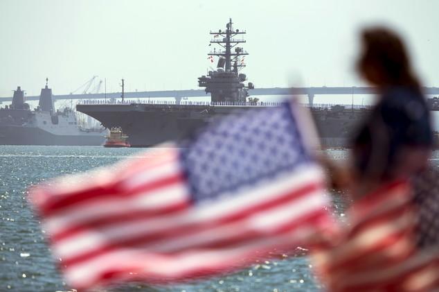 لأول مرة.. البحرية الأمريكية تجرب الدرع الصاروخية في أوروبا