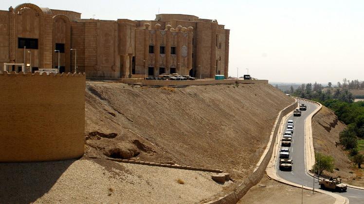 القوات العراقية تستعيد قصر صدام حسين في تكريت