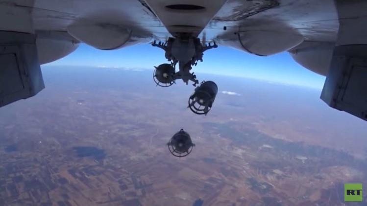 غارات روسية جديدة في سوريا