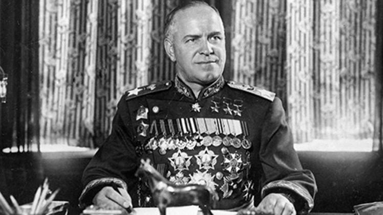 القائد العسكري الروسي غيورغي جوكوف