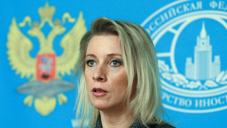 الخارجية الروسية: الحالة حول طائرة الوفد الروسي تؤدي إلى الاستفزاز