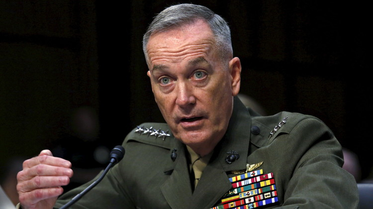 أربيل.. الجنرال دانفورد يستبعد عملية عسكرية روسية ضد الإرهاب في العراق