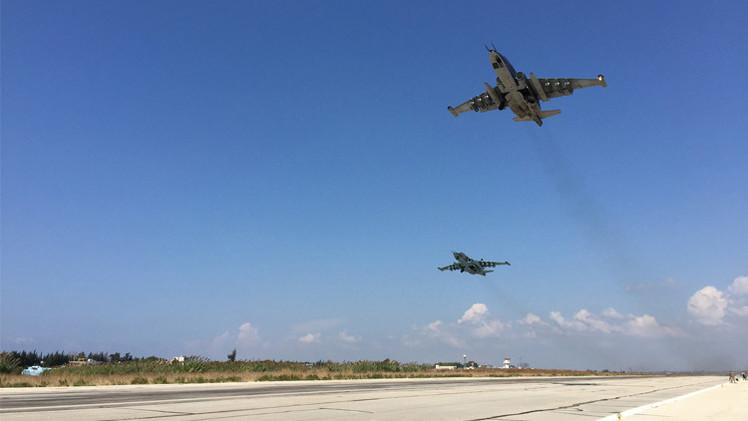 سلاح الجو الروسي يدمر مركز قيادة لجماعة