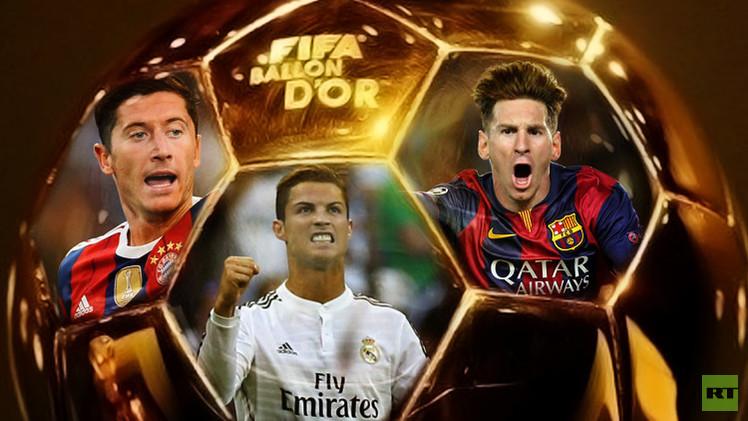 قائمة المرشحين المختصرة لجائزة الكرة الذهبية 2015