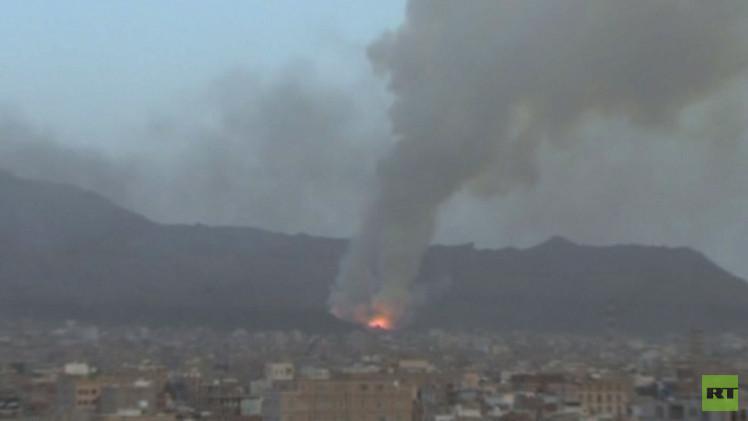 اليمن.. التحالف يقصف مواقع للحوثيين.. ويوقف تقدمهم نحو أبين