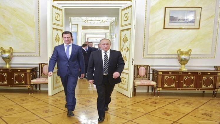 زيارة الأسد السرية إلى موسكو مسارات جديدة على طريق التسوية السياسية؟!