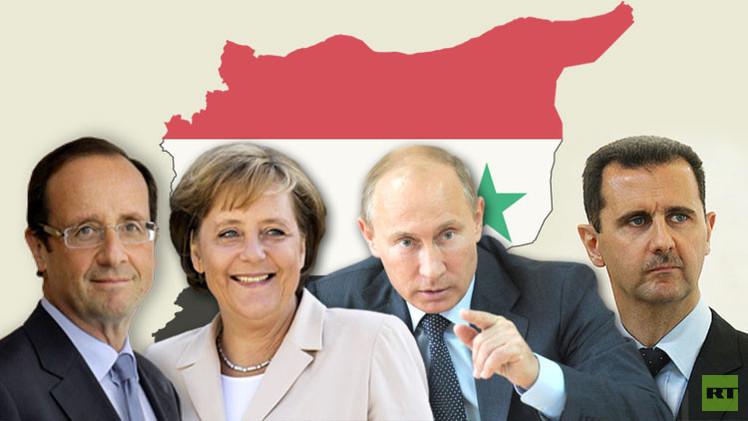 قمة في موسكو تجمع الأسد بهولاند وميركل؟