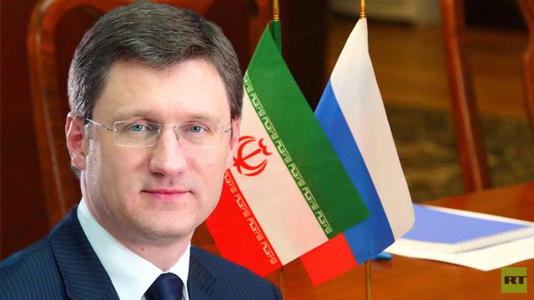وزير الطاقة الروسي في طهران لتعزيز التعاون بين البلدين