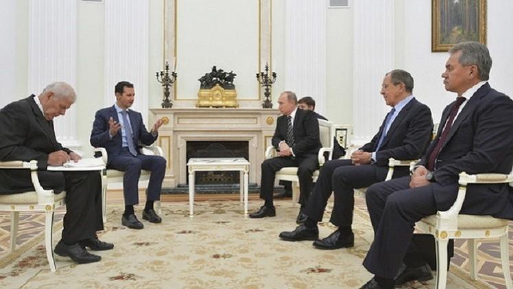زيارة الأسد لموسكو أحدثت مفاجأة دولية من العيار الثقيل