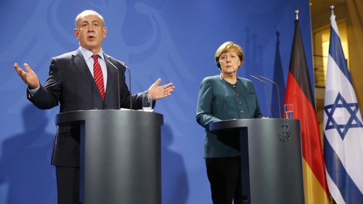 ميركل لنتنياهو: ألمانيا تعرف من هو المسؤول عن المحرقة