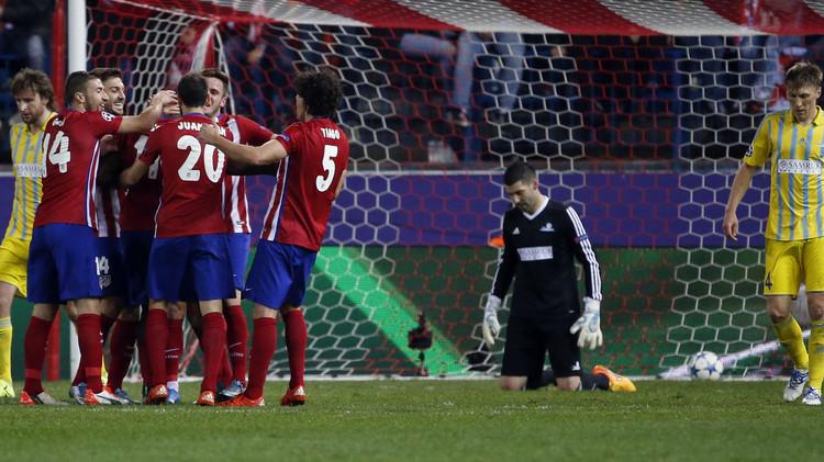 أتلتيكو مدريد يقسو على أستانا الكازاخستاني المغمور في دوري الأبطال .. (فيديو)