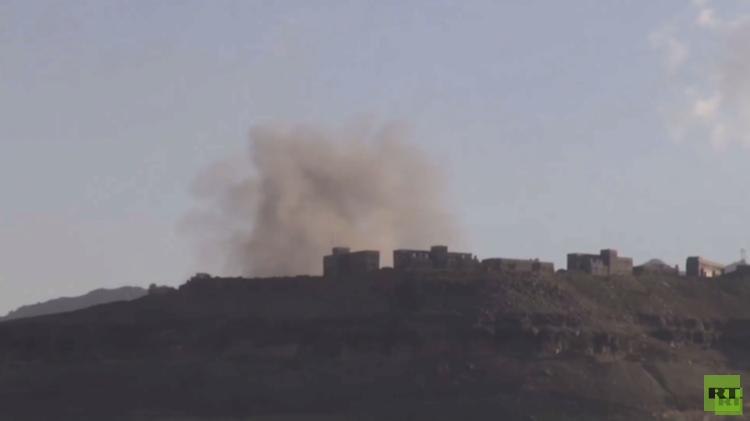 غارات للتحالف العربي ضد محافظات مختلفة باليمن