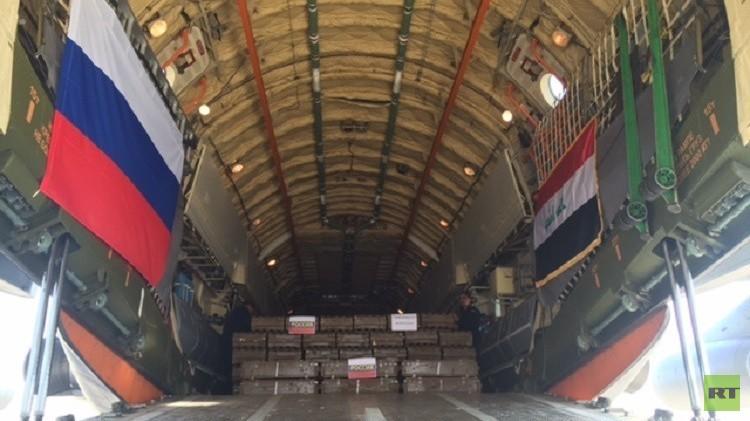 بغداد تتسلم الدفعة الثانية من المساعدات العسكرية الروسية (صور)