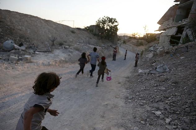 وزارة الدفاع الروسية تعالج الأطفال السوريين ضحايا الإرهاب