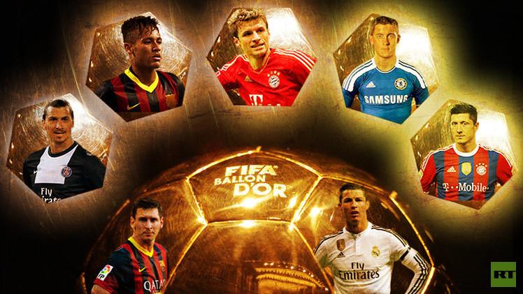 فيديو.. من سيقارع الثنائي رونالدو وميسي على جائزة الكرة الذهبية 2015؟