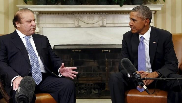 أوباما ونواز شريف يحثان حركة طالبان الأفغانية على التفاوض