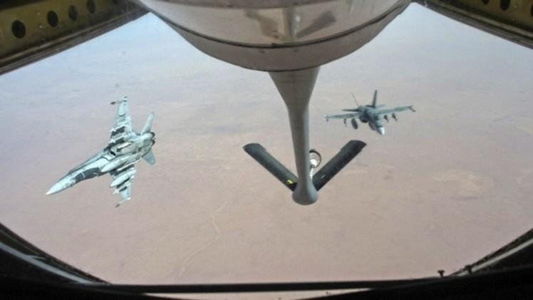 قوات التحالف الدولي تشن 16 غارة على تنظيم