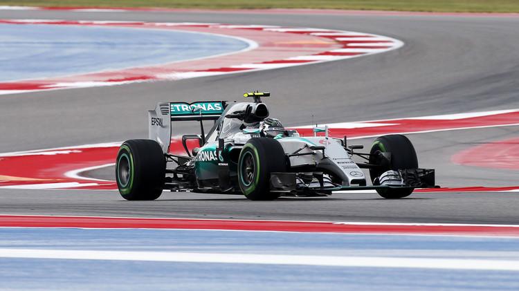 روزبيرغ الأسرع في التجارب الحرة لجائزة أمريكا الكبرى للفورمولا 1