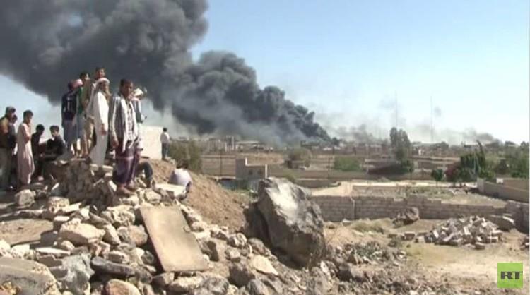 غارات للتحالف على صنعاء ومدن يمنية أخرى