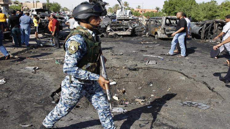 العراق.. قتلى وجرحى بتفجير سيارة مفخخة استهدفت نقطة أمنية شمالي بغداد