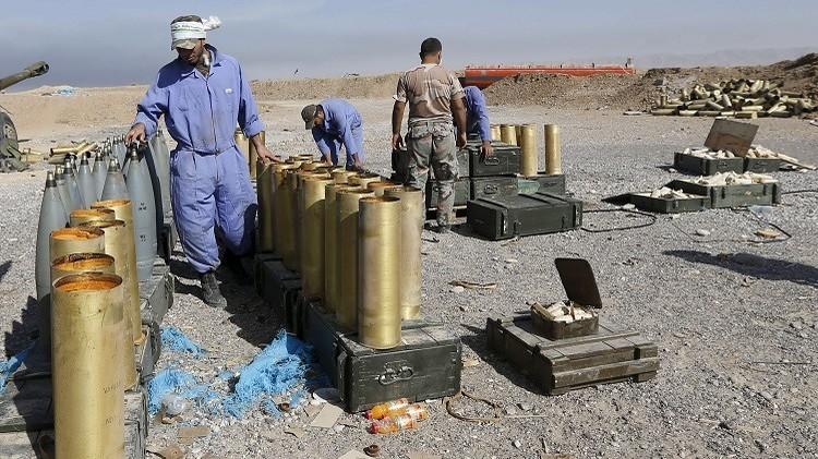 القوات والعشائر العراقية في الأنبار يصنعون 120 صاروخا لمواجهة