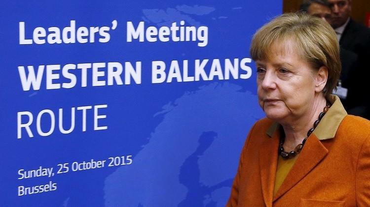 ميركل: أوروبا تحتاج إلى مساعدة تركيا لحل أزمة المهاجرين