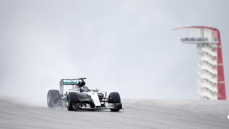 روزبيرغ أول المنطلقين في سباق أمريكا للفورمولا 1