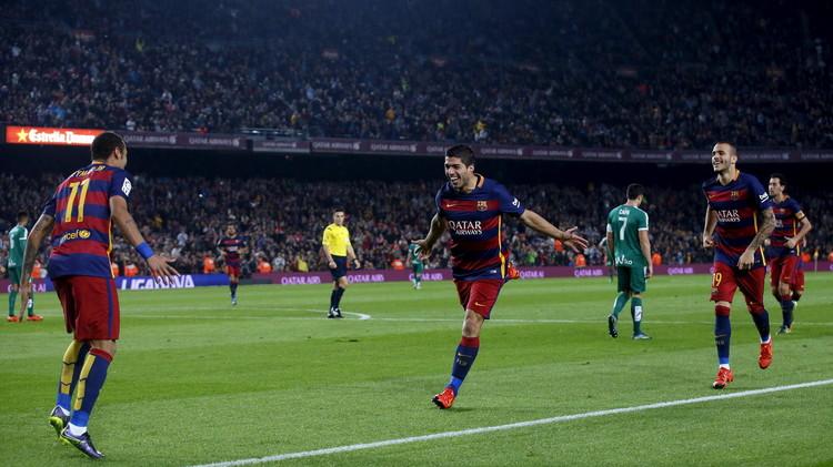 برشلونة يفوز على إيبار بـ