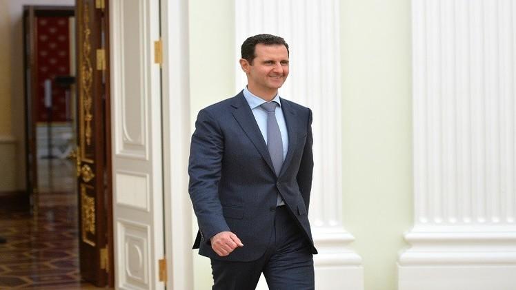 الأسد يدعو الشركات الروسية للمساعدة في إعمار سوريا