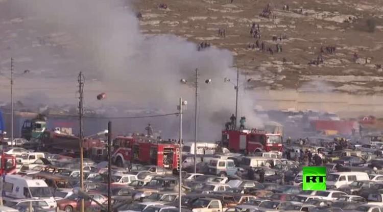 الأردن.. 5 قتلى و8 مصابين في انفجار شاحنتين محملتين بألعاب نارية (فيديو)