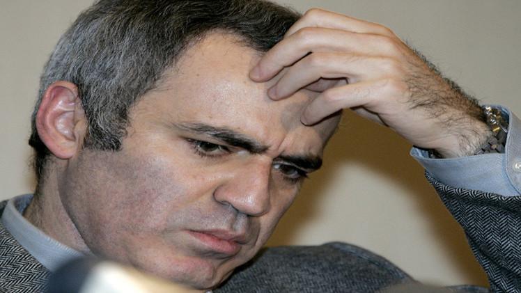 الوجه الآخر لبطل الشطرنج العالمي غاري كاسباروف