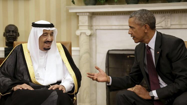 أوباما والعاهل السعودي يلتزمان بزيادة دعم